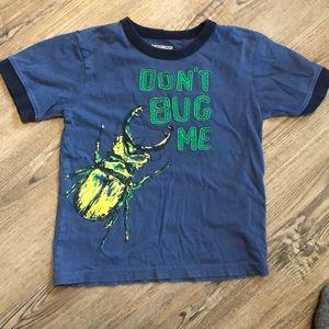 Oshkosh B Gosh Boys Bug Short Sleeve Tee - Size 4